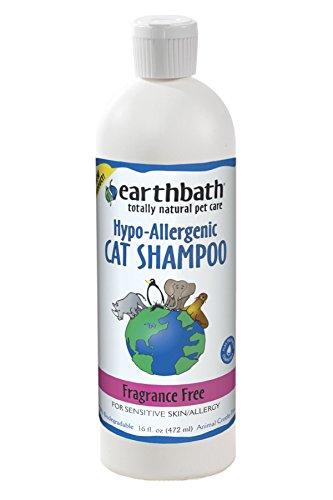 Earthbath Hypo-Allergenic Cat Shampoo, 16 oz
