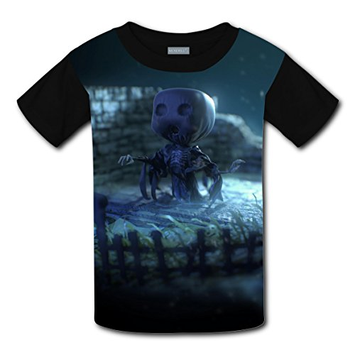 Dementor Costume Pattern (Short Sleeve New Awesome Tee Shirt 3D Original With Dementor For Unisex Child XL)