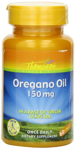 Thompson Oregano Oil , 150 Mg, 60 Softgels For Sale