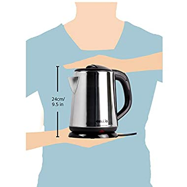 iBELL 1500 W Stainless Steel High Polished Electric Kettle 11