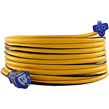 50ft. Caterpillar CAT CKAW01-050 Heavy Duty All-Weather 15A 12//3 Extension Cord