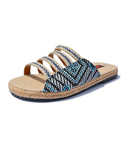 CHAOXIANG Chanclas Para Mujer Antideslizante Zapatillas De tacón alto Sandalias De Surf Nuevo Zapatos De Playa Del Verano ( Color : A , Tamaño : EU40/UK6.5/CN41 ) A