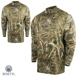 Beretta Shirt Mock Turtleneck Ls Max 5 Camo M