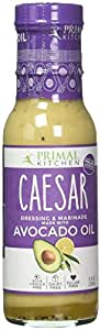 Primal Kitchen - Caesar, Avocado Oil-Based Dressing and Marinade, Whole30 and Paleo Approved (8 oz)