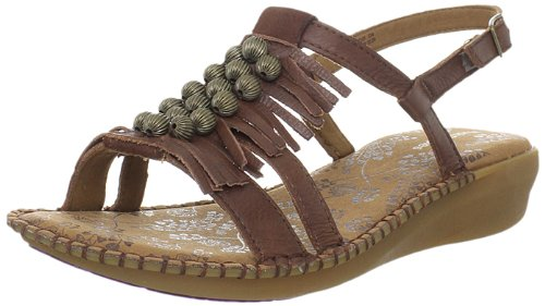 (Hush Puppies Women's Laze Sling Slingback Sandal,Brown,9 W)