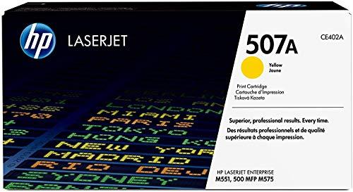 Original HP Laserjet Toner Cartridge for HP 507A Yellow   CE402A