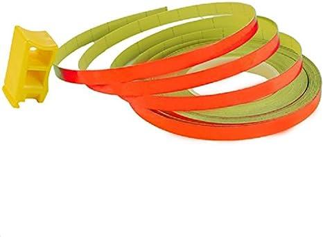 Felgen Rand Aufkleber 6mm X 8 5m Streifen Pin Stripe Auto Motorrad Neon Orange Auto