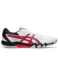 ASICS Blast FF 2 Men's Indoor Court Shoe (White/Red) (Numeric_11_Point_5)