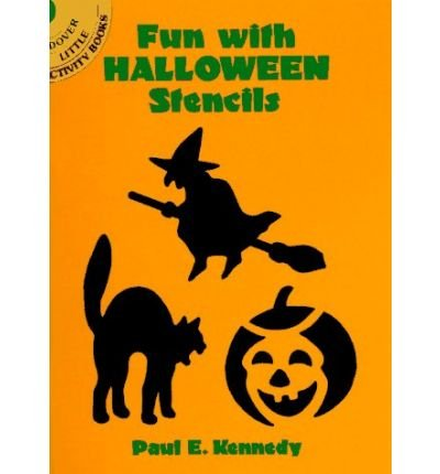 Fun with Halloween Stencils (Dover