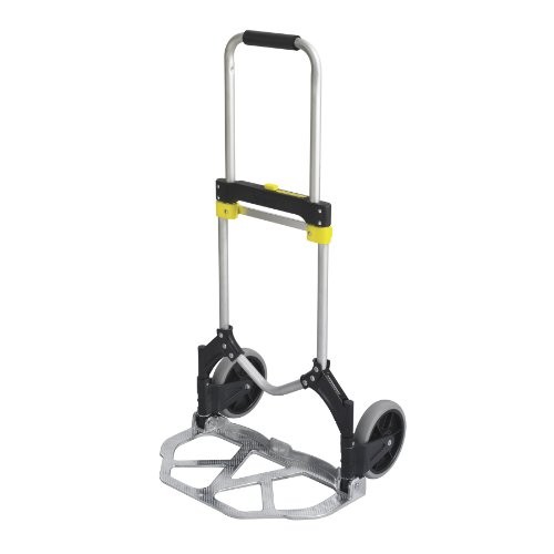 Safco Products 4062 Stow-Away Collapsible Utility Hand Truck, Silver/Black by Safco Products