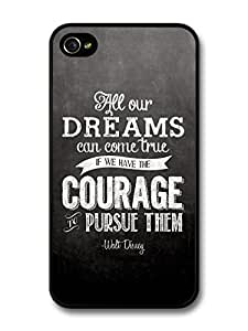 meilinF000AMAF ? Accessories All Our Dreams Can Come True Walt Disney Animation Movie Quote case for iPhone 5cmeilinF000