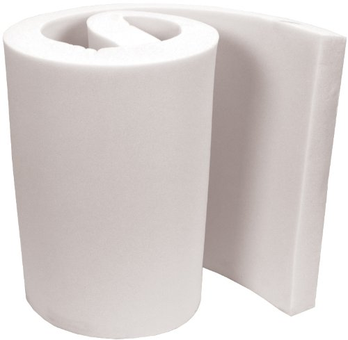 Air Lite Extra High Density Urethane Foam for Projects, 2 by 36 by 82-Inch, White FOB:MI by Air Lite