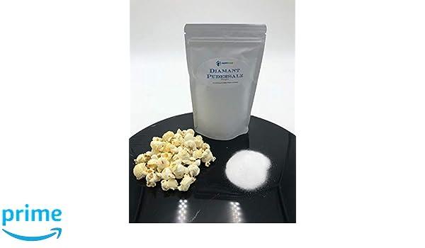 Sal de palomitas de maíz Sal en polvo de diamante Sal superior 250 gramos Oferta superior en bolsa resellable: Amazon.es: Alimentación y bebidas