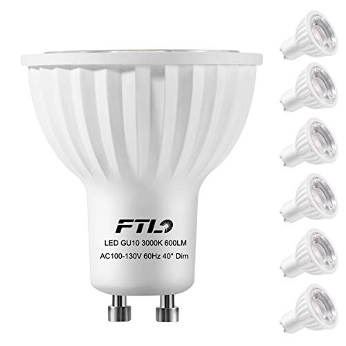 Gu10 Warm White 60 Smd Led Spot Light Bulb Lamp in US - 7