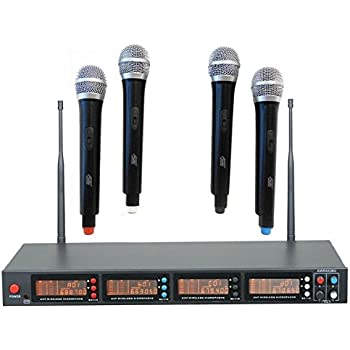 audio2000 39 s awm6528u wireless microphone system musical instruments. Black Bedroom Furniture Sets. Home Design Ideas