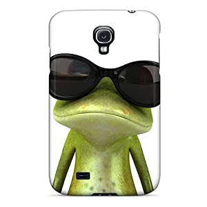 (LXX546ZFPS)durable Protection Case Cover For Galaxy S4(froggy)