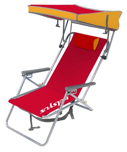 Amazon.com  Kelsyus Beach Canopy Chair Red  Sports Fan Canopies  Sports u0026 Outdoors  sc 1 st  Amazon.com & Amazon.com : Kelsyus Beach Canopy Chair Red : Sports Fan Canopies ...