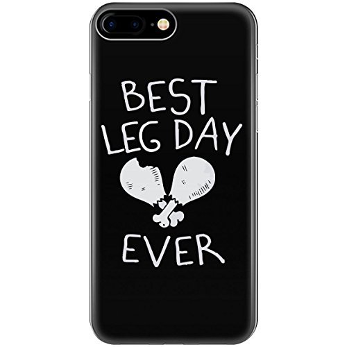 Best Leg Day Ever Humor Theme I Am Foodie Chicken Pieces - Phone Case Fits Iphone 6 6s 7 8