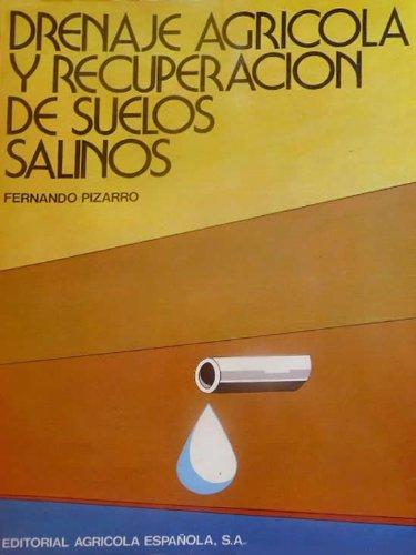DRENAJE AGRÍCOLA Y RECUPERACIÓN DE SUELOS SALINOS. PRECIO EN DOLARES