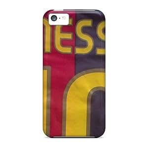 Bumper Hard Cell-phone Cases For Iphone 5c (rTE2797siQT) Custom Fashion Messi Skin