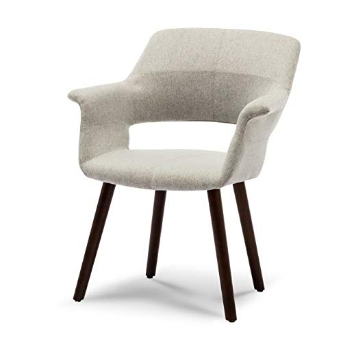 Hebel Mid-Century Modern Accent Chair Linen Living for sale  Delivered anywhere in USA