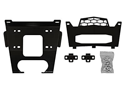 Polaris Turbo & General Winch Mounting Plate