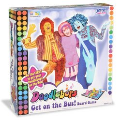 Doodlebops Get on the Bus Board Game
