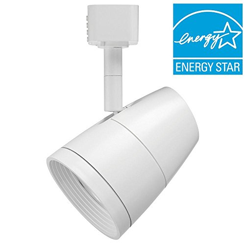 Juno Lighting R600L G2 2700K 80CRI PDIM NFL WH Dimmable 9.5W LED Trac Head, 50W Equivalent, White by Juno Lighting (Image #4)'
