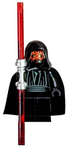 Lego Star Wars Darth Maul Minifigure With Double Sided Lightsaber