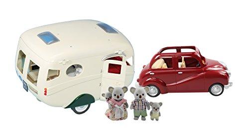 Calico Critters Caravan Camper, Cherry Cruiser and Koala Family Set