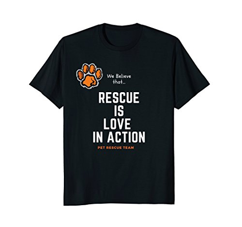 Great Gift T-Shirt For Men, Women & Kids Loving Pet (Double Dog Rescue)
