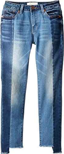 HABITUAL girl Girl's Chelsey Uneven Hem Jeans in Denim, used for sale  Delivered anywhere in USA
