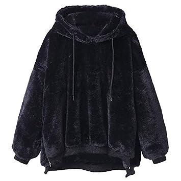 Malloom Mujeres Encapuchados Chaqueta de Abrigo de Piel sintética con Capucha y Abrigo Chaqueta de Abrigo de Invierno: Amazon.es: Productos para mascotas