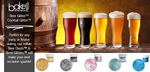 Rose Gold Beer & Beverage Glitter | 1 lb (450 grams) | Edible Food Grade Beer Glitter, Cocktail Glitter & Beverage Glitter-Dust from Bakell by Bakell (Image #6)