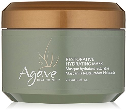 Agave Healing Oil - Restorative Hydrating Mask. Lightweight, Moisturizing Deep Conditioner that Heals 8.5 oz