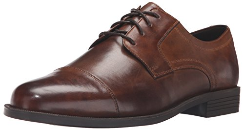 Cole Haan Men's Dustin Cap OX II Oxford, Brown, 8.5 Medium US (Rounded Toe Oxford Shoes)