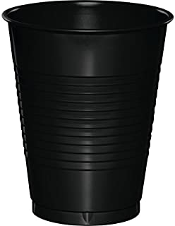 Creative Converting 28134081 Touch of Color Premium Plastic Cups Party Supplies, 16oz, Black (B001GQNSDI)   Amazon price tracker / tracking, Amazon price history charts, Amazon price watches, Amazon price drop alerts