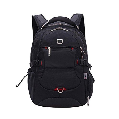 Backpack Bag Men's Laptop Black Student Dhfud Business Cloth Oxford Shoulder Travel Hwt8xxqBOd