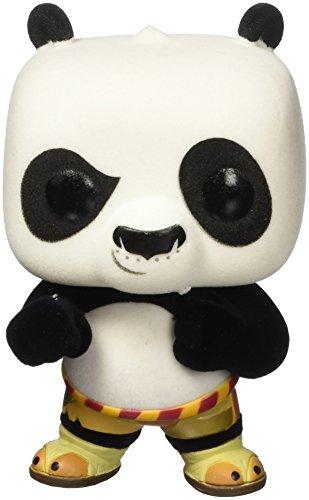 Funko 6002–Kung Fu Panda, Figura de Vinilo Pop, 250Po, Flocado, 9