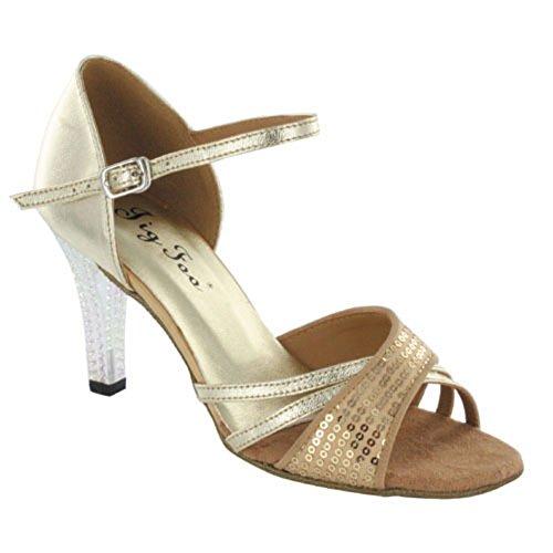 ladies Latin dance shoes/ dance shoes for social dance/sq...