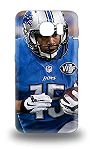 Awesome NFL Detroit Lions Golden Tate #15 Flip 3D PC Case With Fashion Design For Galaxy S6 ( Custom Picture iPhone 6, iPhone 6 PLUS, iPhone 5, iPhone 5S, iPhone 5C, iPhone 4, iPhone 4S,Galaxy S6,Galaxy S5,Galaxy S4,Galaxy S3,Note 3,iPad Mini-Mini 2,iPad Air )