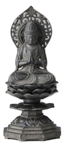 勢至菩薩 古美青銅 15cm B00JGQ8BGO 15cm|古美青銅 古美青銅 15cm