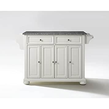 Amazon Crosley Furniture Alexandria Kitchen Island with Solid