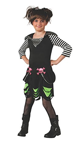 Rubies Goth Rock Costume Dress, Large (Goth Halloween Costumes For Kids)