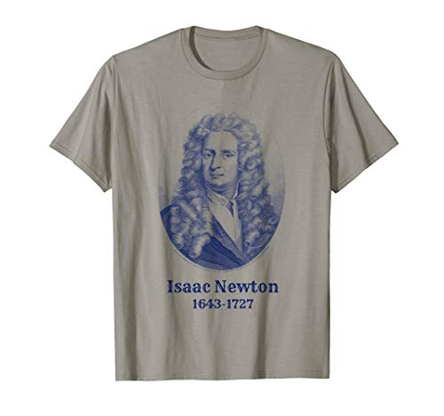 Isaac Newton T-Shirt. Isaac Newton Science Astronomy Tee (Isaac Newton And His Contribution To Science)