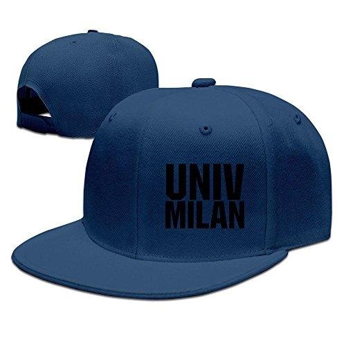 MaNeg UNIV MILAN Unisex Fashion Cool Adjustable Snapback Baseball Cap Hat One Size - Duomo Light 1