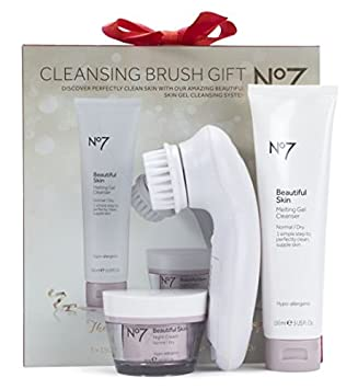 save up to 80% super popular exclusive range Boots No7 Cleansing Brush Gift With Beautiful Skin Cleanser ...
