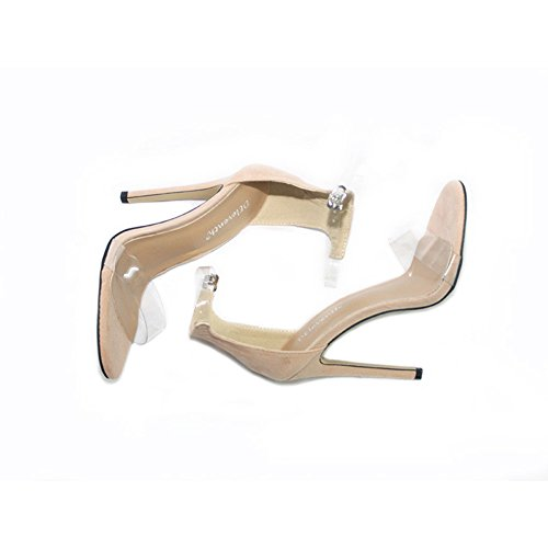 Tacón Verano Aguja Noche Segundo de Club Estilete Zapatos de de de y Zapatos Mujer Transparente de Vestido Zapatos Plataforma Fiesta Plataforma de de para x7nxFqYf8