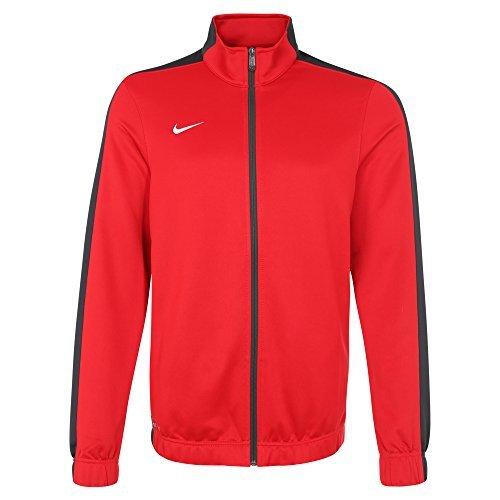 Mens Nike Stock (Nike Mens Stock League Warm-Up Jacket Red/Grey)