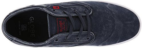 Globe Motley GBMOTLEY - Zapatillas de cuero unisex azul marino Wash
